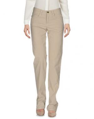 Повседневные брюки CARLO CHIONNA. Цвет: песочный