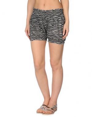 Пляжные брюки и шорты MARZIA GENESI SEA. Цвет: светло-серый