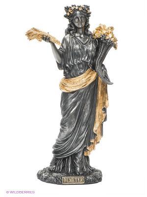 Статуэтка Деметра - Богиня плодородия Veronese. Цвет: серебристый, золотистый