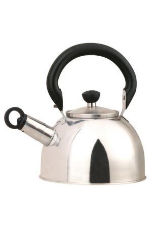 Чайник металлический 2 л Bekker. Цвет: серебристый