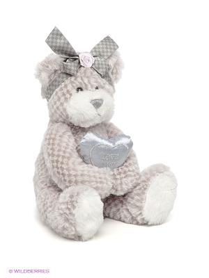 Мягкая игрушка Мишка Белла MAXITOYS. Цвет: серый