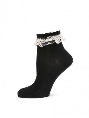 Носки LARMINI. Цвет: черный