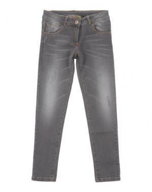 Джинсовые брюки MANILA GRACE DENIM. Цвет: серый