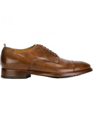 Туфли Дерби Princeton Officine Creative. Цвет: коричневый