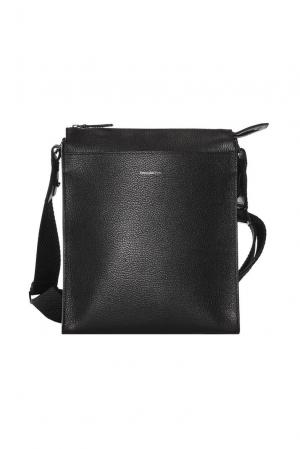 Мужская сумка 177060 Ermenegildo Zegna. Цвет: черный