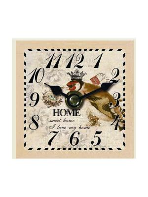 Часы настольные Король птиц Magic Home. Цвет: белый