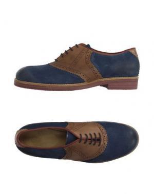Обувь на шнурках MR. WOLF. Цвет: грифельно-синий