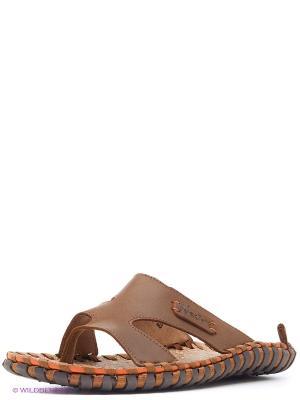 Сандалии Nexpero. Цвет: коричневый