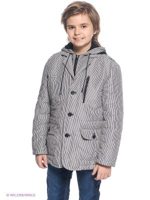 Куртка MES AMI. Цвет: серый, белый