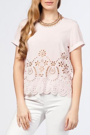 Блуза Dilvin. Цвет: розовый