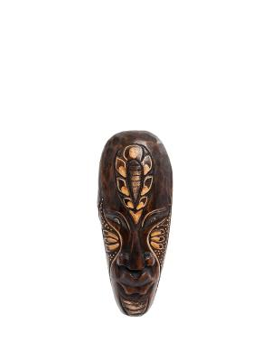 Маска ИНДЕЕЦ, 20 см Decor & gift. Цвет: коричневый