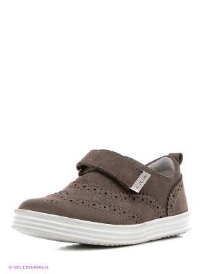 Туфли ELEGAMI. Цвет: коричневый