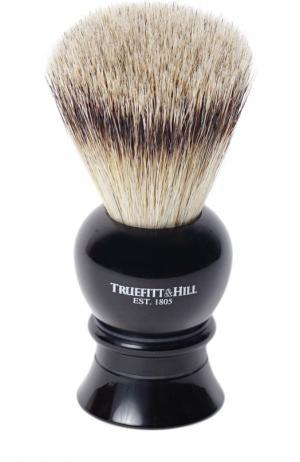 Кисть для бритья Ворс серебристого барсука/Эбонит с серебром Regency Truefitt&Hill. Цвет: бесцветный