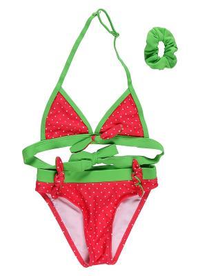 Купальник Sweet Berry. Цвет: зеленый, красный, светло-зеленый