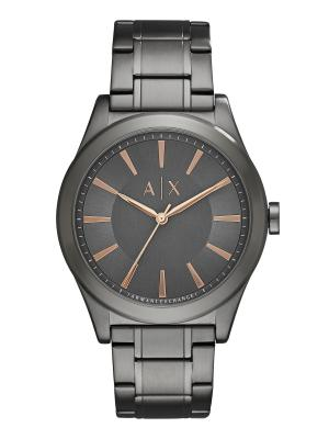Часы Armani Exchange. Цвет: серый