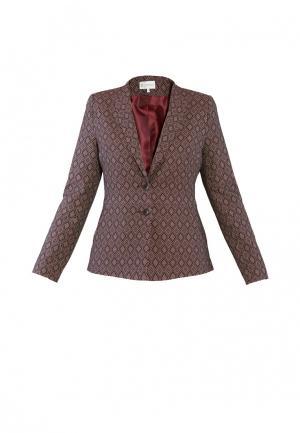 Пиджак Петербургский стиль. Цвет: коричневый