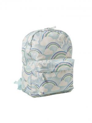 Рюкзак Funky Fish. Цвет: белый, голубой