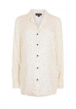 Блуза Topshop Maternity. Цвет: бежевый