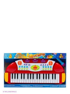 Музыкальный синтезатор Тилибом. Цвет: красный