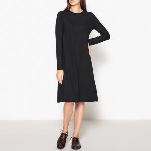Платье расклешённое OPY AMERICAN VINTAGE. Цвет: антрацит