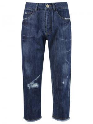 Укороченные джинсы Uma | Raquel Davidowicz. Цвет: синий