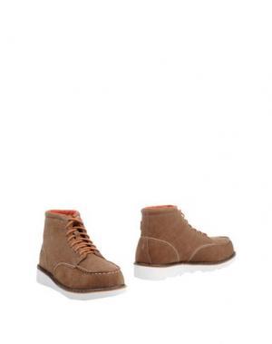 Полусапоги и высокие ботинки HEY DUDE. Цвет: коричневый