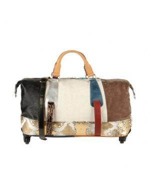 Дорожная сумка EBARRITO. Цвет: баклажанный