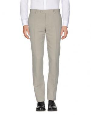 Повседневные брюки JOHN VARVATOS. Цвет: светло-серый