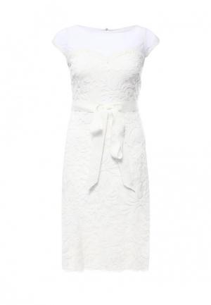 Платье Apart. Цвет: белый