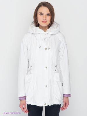 Куртка Lisa Campione. Цвет: белый