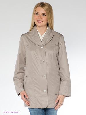 Куртка WEGA. Цвет: серый
