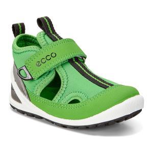 Сандалии ECCO. Цвет: зеленый