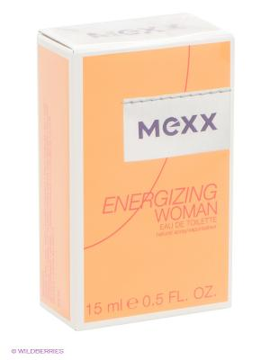 Туалетная вода Mexx Energizing Woman, 15 мл. Цвет: желтый, белый, красный