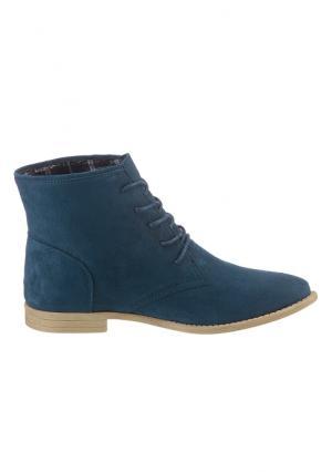 Высокие ботинки CITY WALK. Цвет: темно-синий