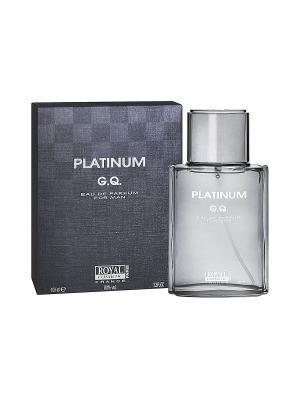Парфюмерная вода Платинум Джи Кью (Platinum G.Q. ) муж. 100мл ROYAL COSMETIC. Цвет: прозрачный