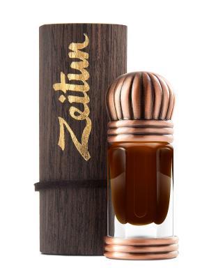 Концентрированные масляные духи Черный мускус Зейтун. Цвет: коричневый