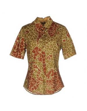 Pубашка ALVIERO MARTINI 1a CLASSE. Цвет: зеленый-милитари