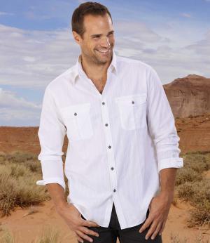 Рубашка Легенда AFM. Цвет: белыи