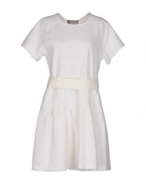 Короткое платье GIAMBATTISTA VALLI. Цвет: белый