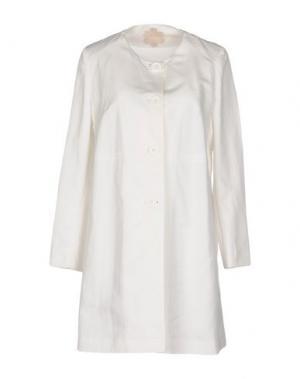 Легкое пальто MOUCHE. Цвет: белый