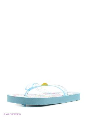 Пляжная обувь детская Mon Ami. Цвет: синий