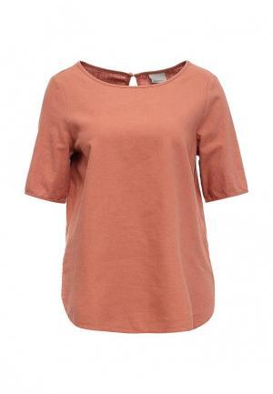 Блуза Vero Moda. Цвет: коралловый