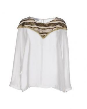 Блузка EYEDOLL. Цвет: белый