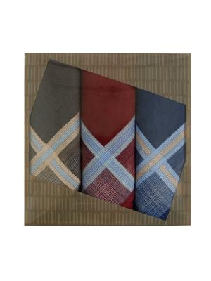 Мужские носовые  платки ZLATA KORUNKA. Цвет: бордовый