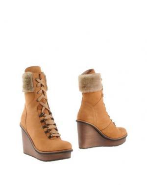 Полусапоги и высокие ботинки SCHOLL. Цвет: желто-коричневый