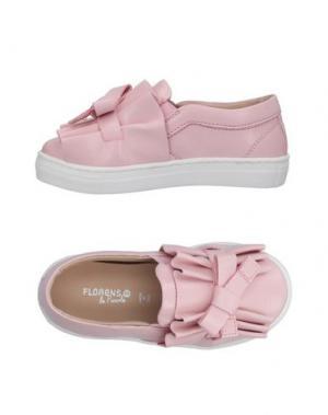 Мокасины FLORENS LE PICCOLE. Цвет: розовый