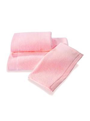 Полотенце махровое 100х150 розовый TOALLA. Цвет: розовый