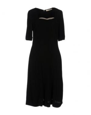 Платье до колена NICE THINGS by PALOMA S.. Цвет: черный
