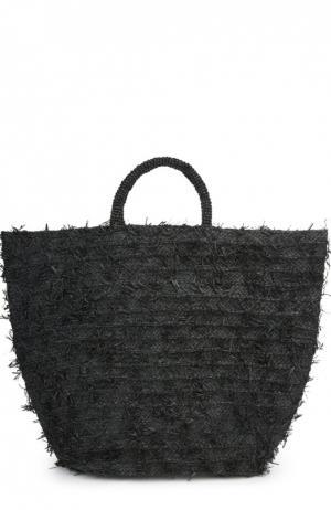 Пляжная сумка Sans-Arcidet. Цвет: черный