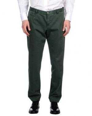 Повседневные брюки ALTEA dal 1973. Цвет: зеленый